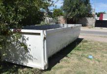 Bateas para residuos voluminosos