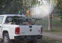 Camioneta de Fumigación