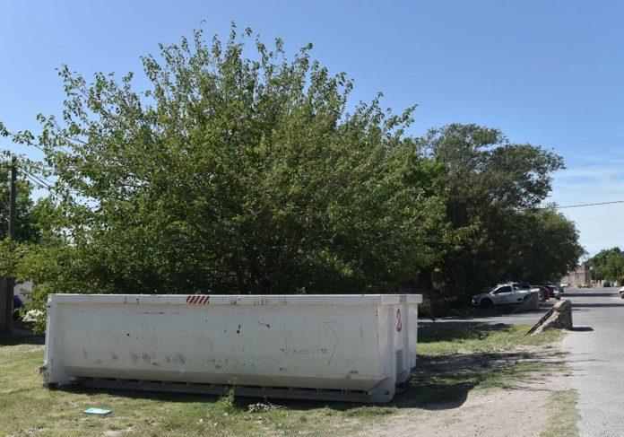 Batea para residuos voluminosos