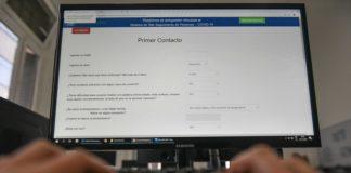web plataforma de autogestion covid