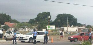 control de tránsito en Bahía Blanca