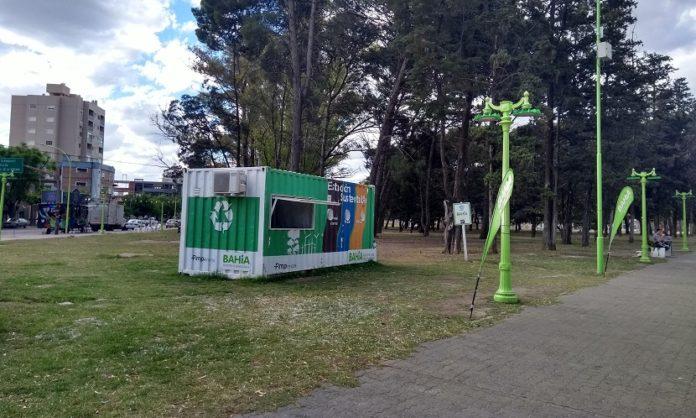 Estación sustentable móvil