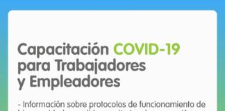 Flyer capacitación COVID-19